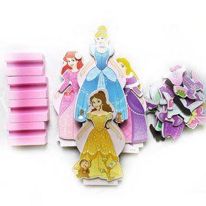 Disney Princess Magnetic Doll Set